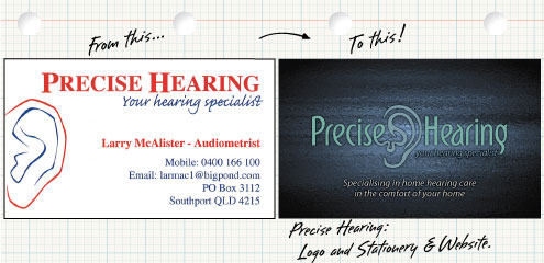 Precise Hearing Rebranding